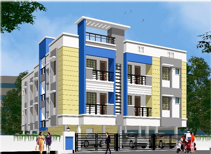 sbi colony first st chandrasekar builders best construction